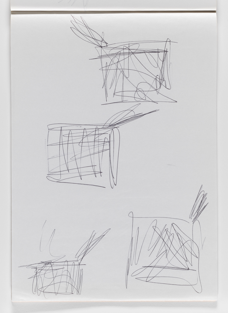 Nam June Paik, Untitled, from Untitled Notebook, 1980 page 40