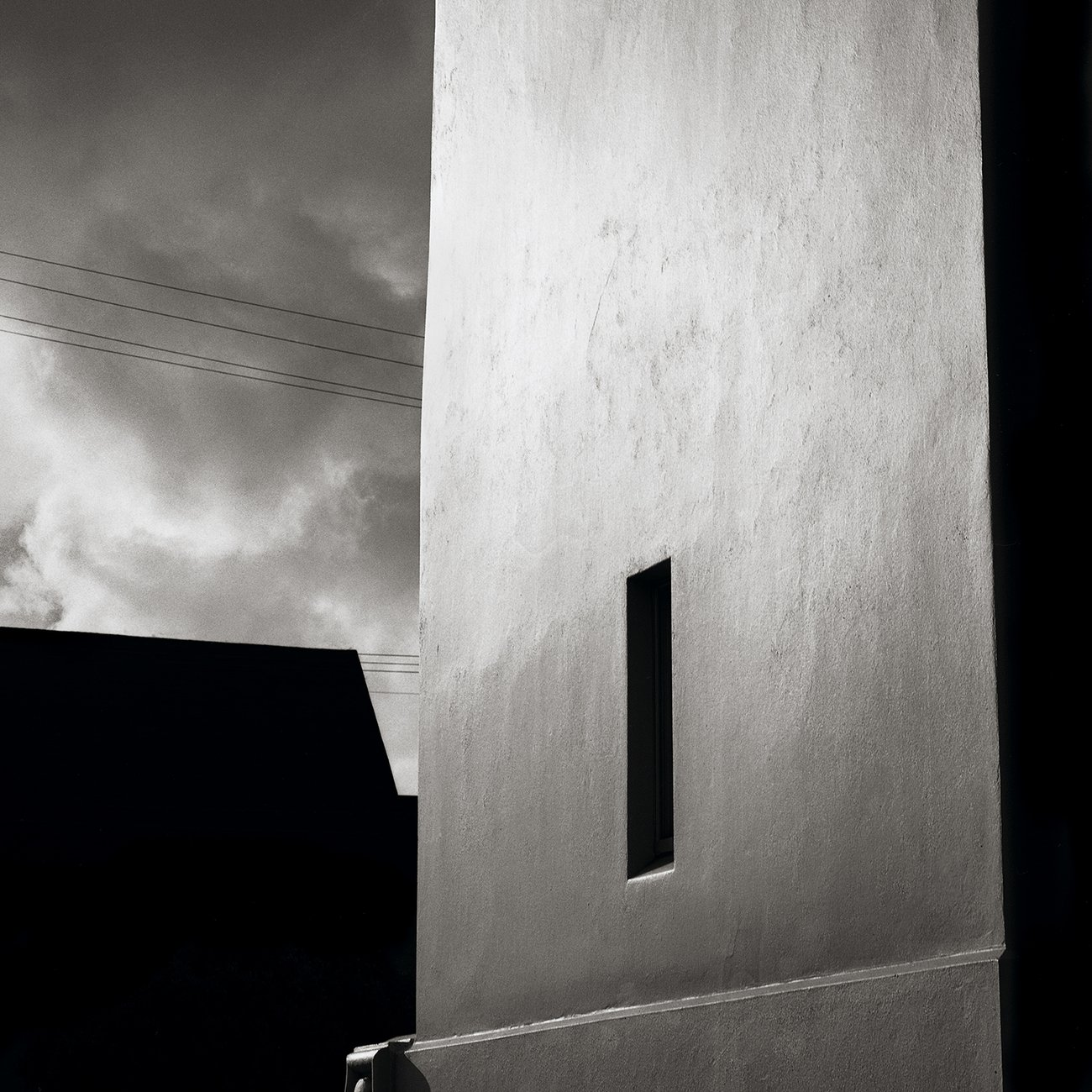 black and white photo of mission delores