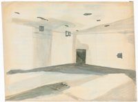 Luc Tuymans, painting of room interior