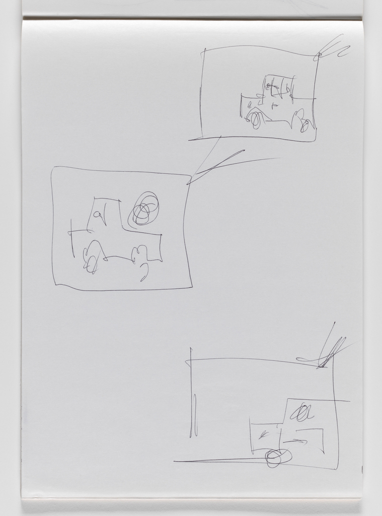 Nam June Paik, Untitled, from Untitled Notebook, 1980 page 29