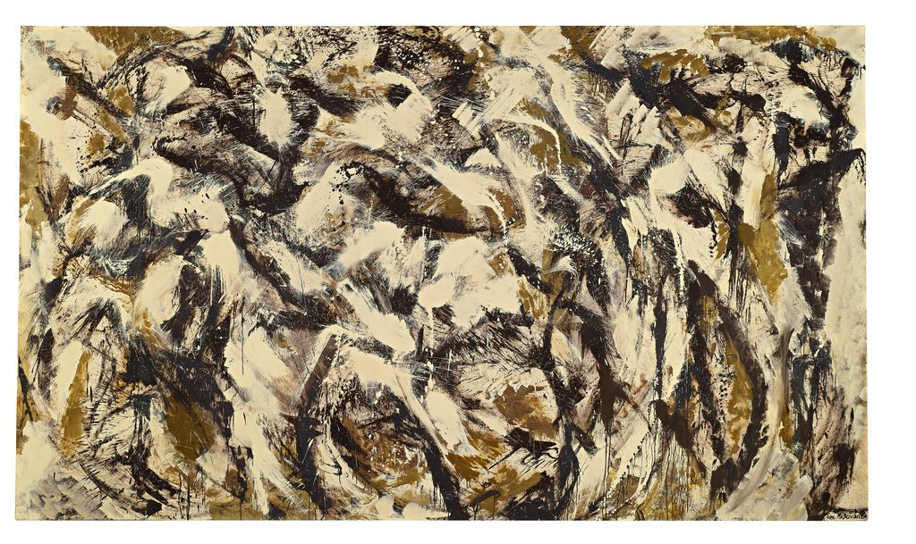 Artwork image, Lee Krasner, Polar Stampede