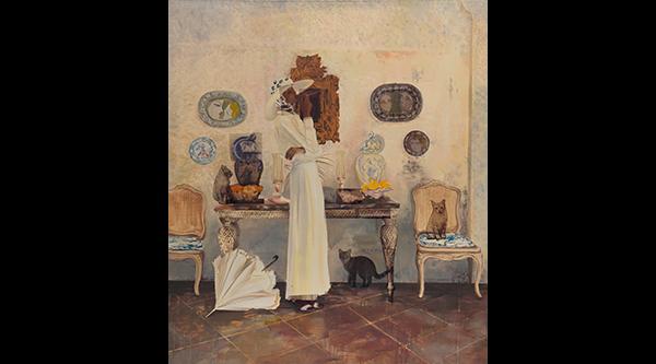 Thumbnail, Paulina Olowska, A Portrait of the Artist—Indoors, 2012