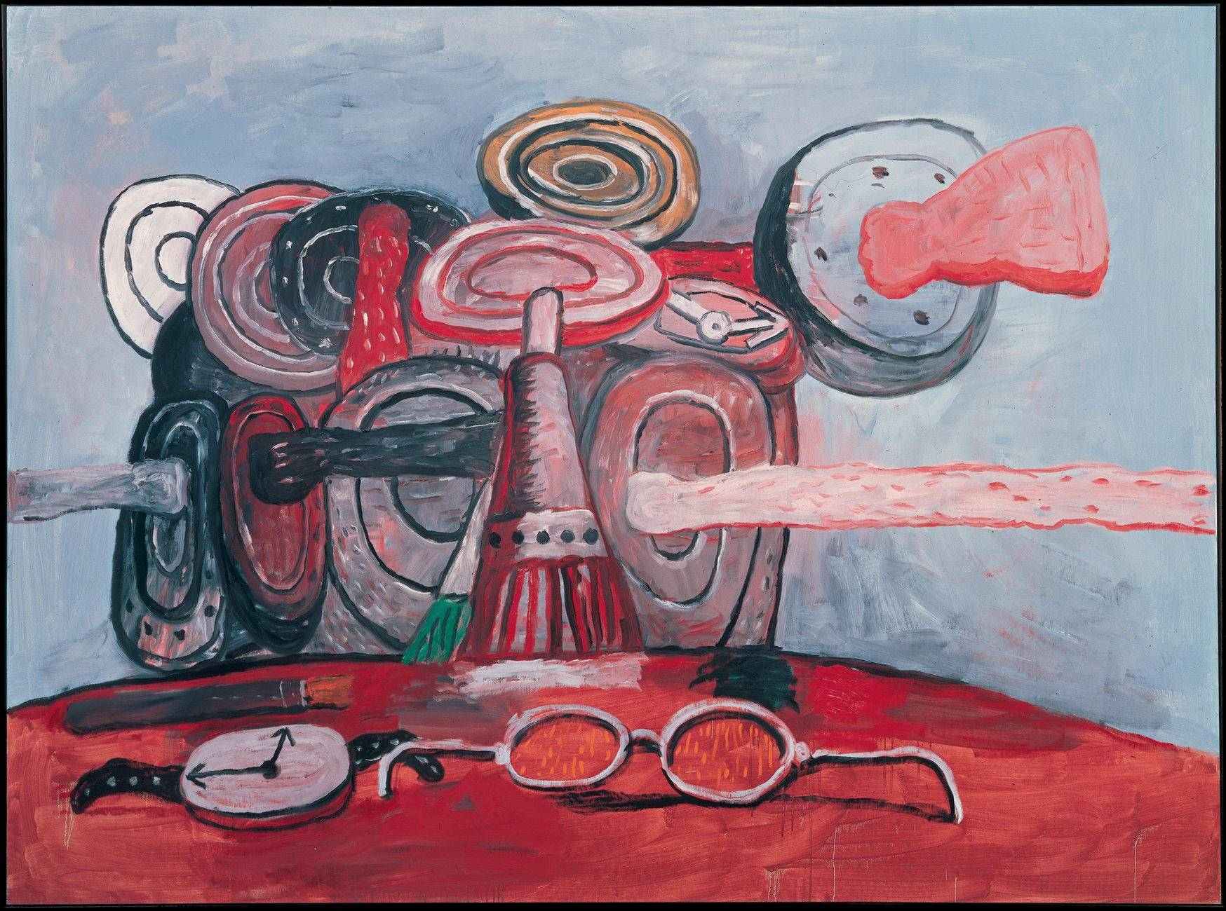 Artwork image, Philip Guston's As It Goes