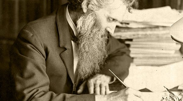 Raw Material related content, photo of John Muir