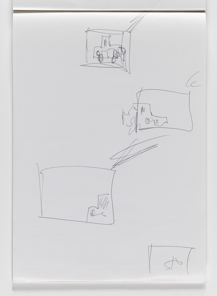 Nam June Paik, Untitled, from Untitled Notebook, 1980 page 26