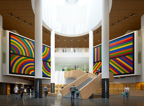 Sfmoma unveils new grand stair design sfmoma for Museum of craft and design sf