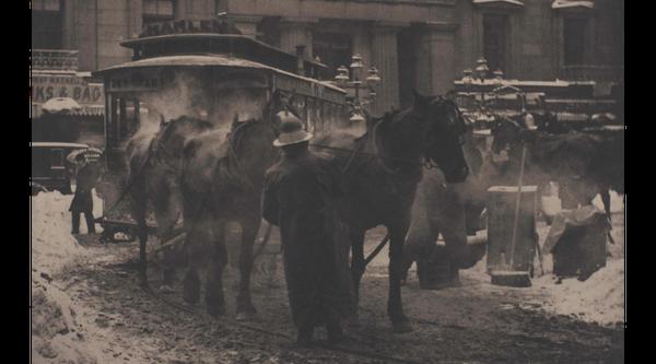 Artwork image, Alfred Stieglitz, The Terminal
