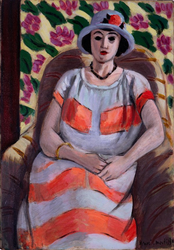 Henri Matisse, Young Woman in Pink
