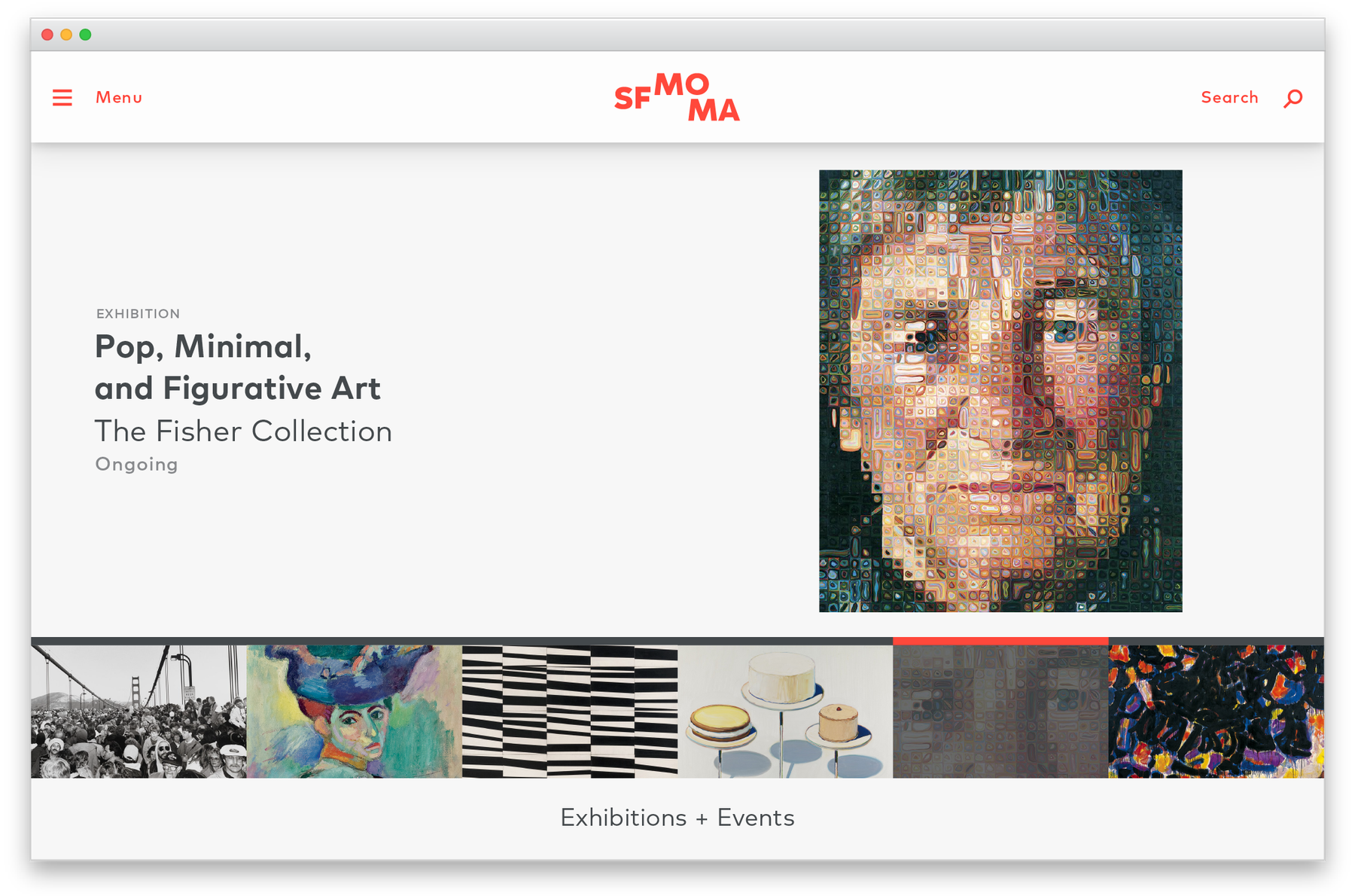 SFMOMA exhibition page