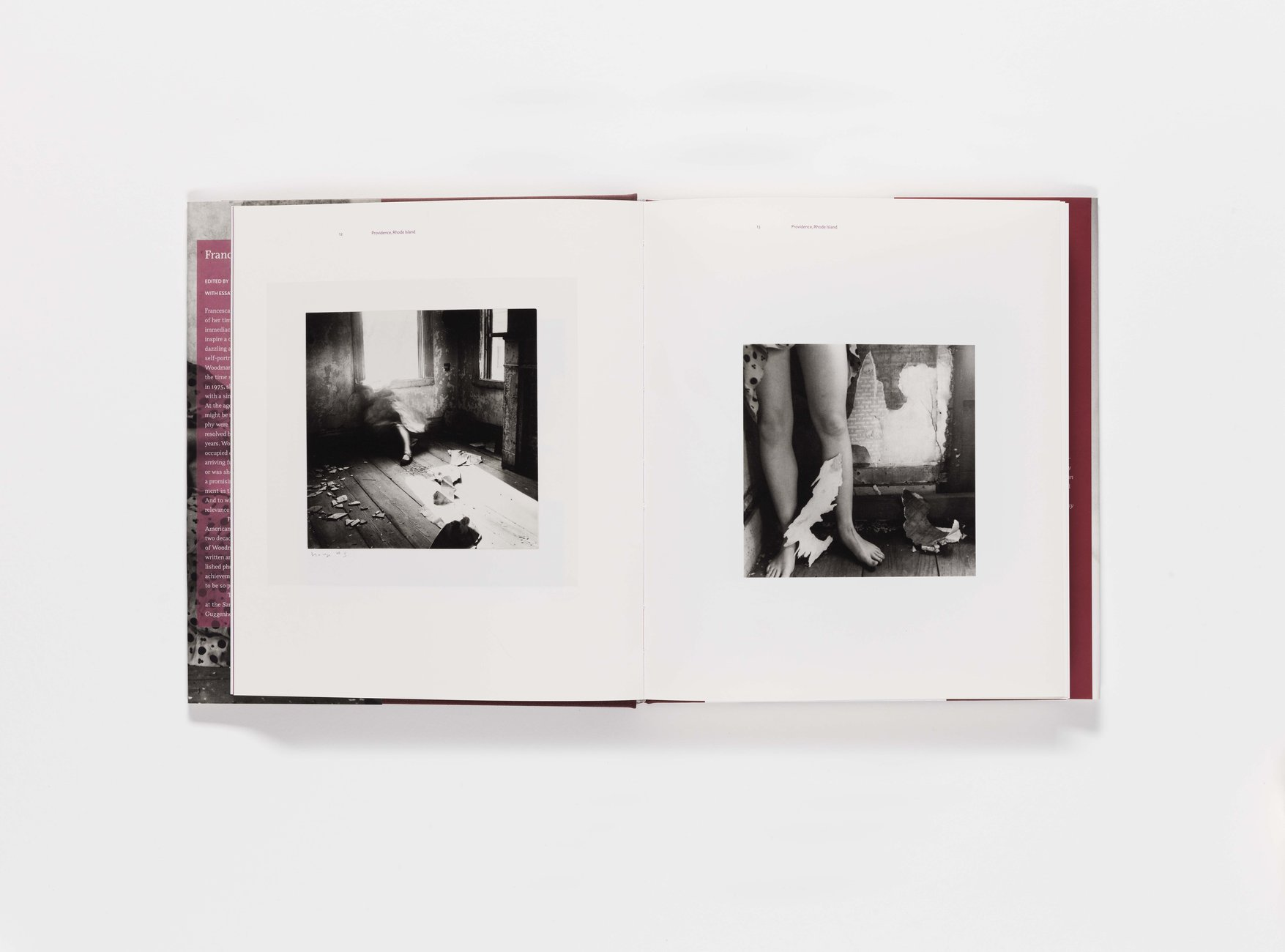 Francesca Woodman publication pages 12-13