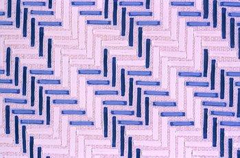 purple and blue geometric strip pattern