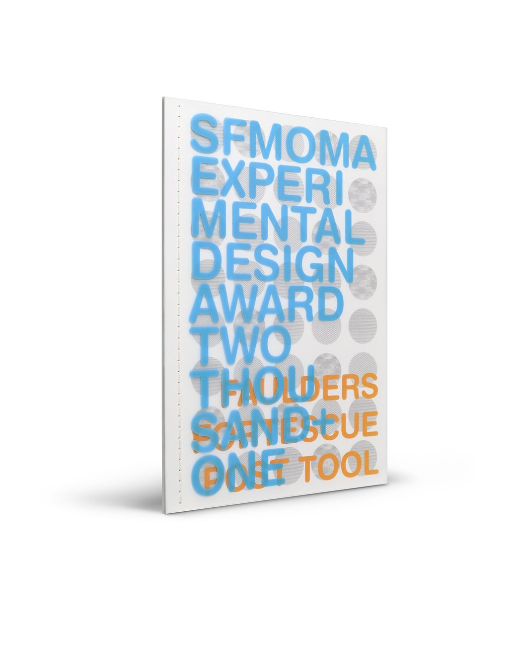 SFMOMA Experimental Design Award publication cover