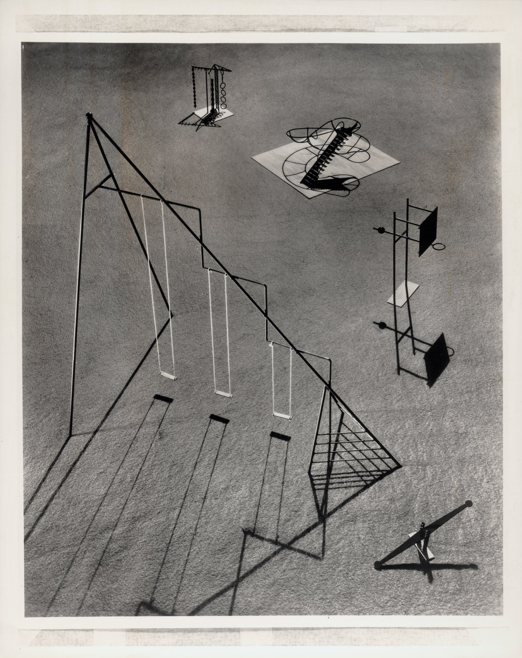 ​Fay S. Lincoln, Image of Noguchi's playground equipment for Ala Moana Park, Hawaii