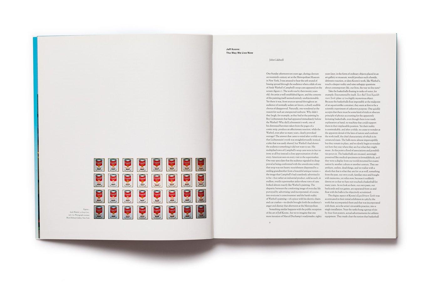 Jeff Koons, pp. 8-9