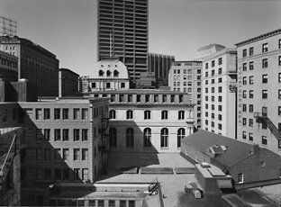 Nicholas Nixon, photograph of buildings in Boston