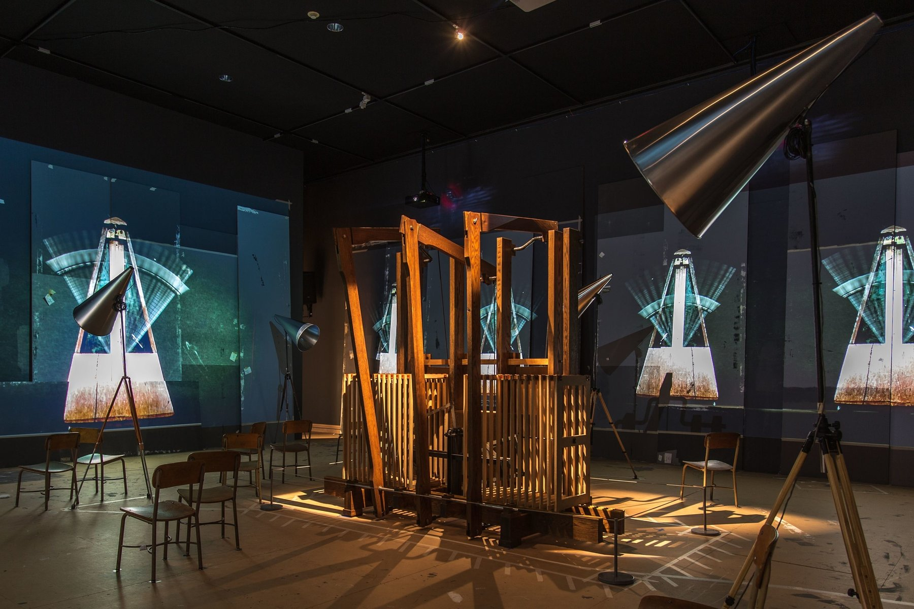 Installation view, William Kentridge, The Refusal of Time