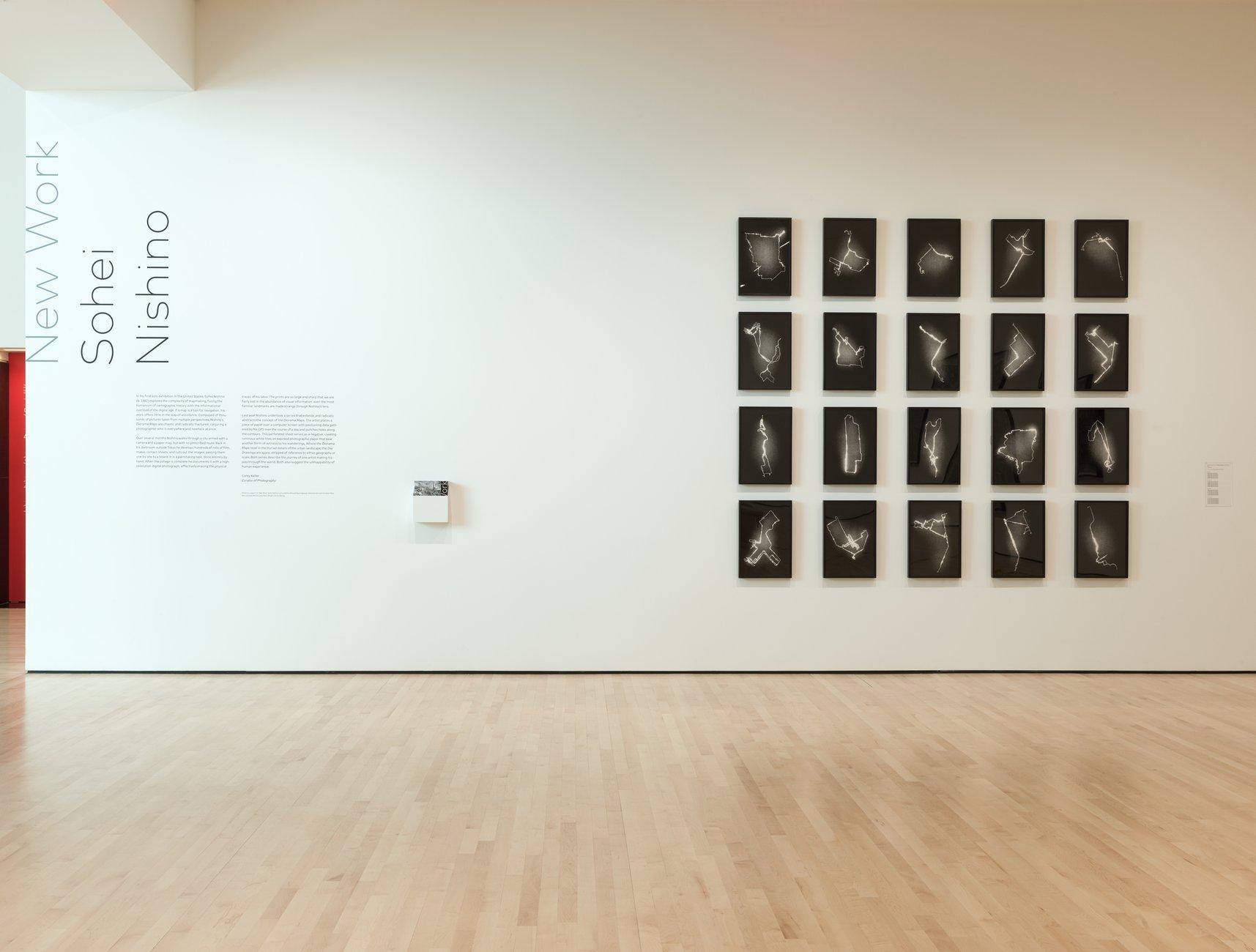 Installation view, New Work: Sohei Nishino