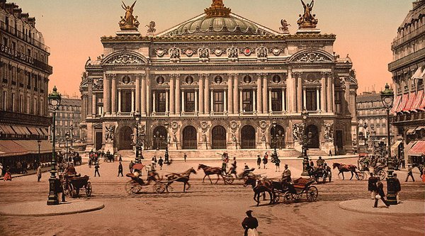 19th century Paris Opera House