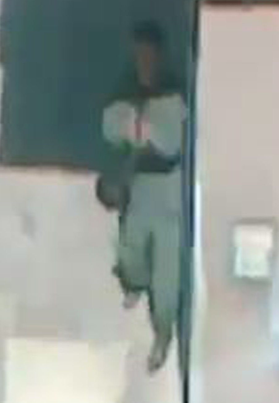 Video still, Rabih Mroue Pixelated Revolution