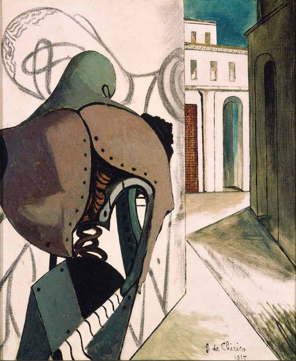 de Chirico, The Vexations of the Thinker