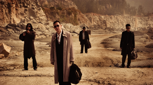 Video still from Johnnie To's Exiled
