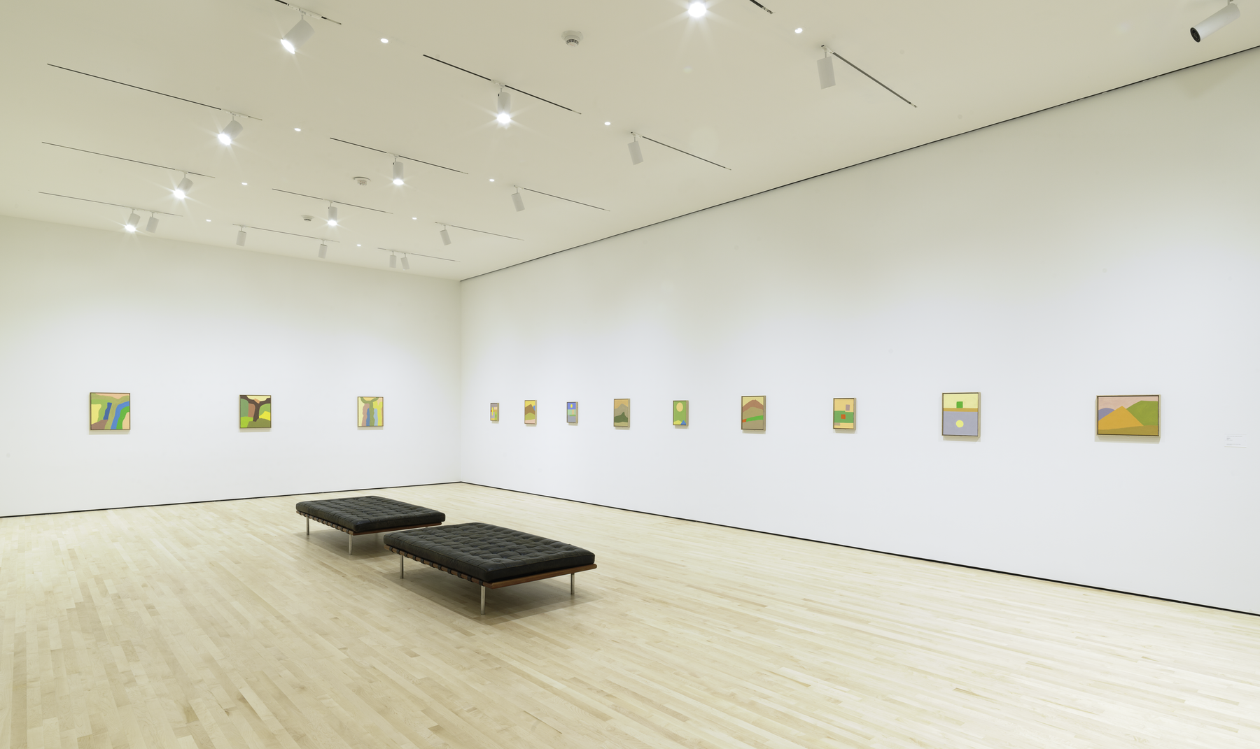 Installation View Etel Adnan