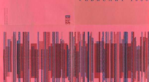 SFMOMA calendar 1960