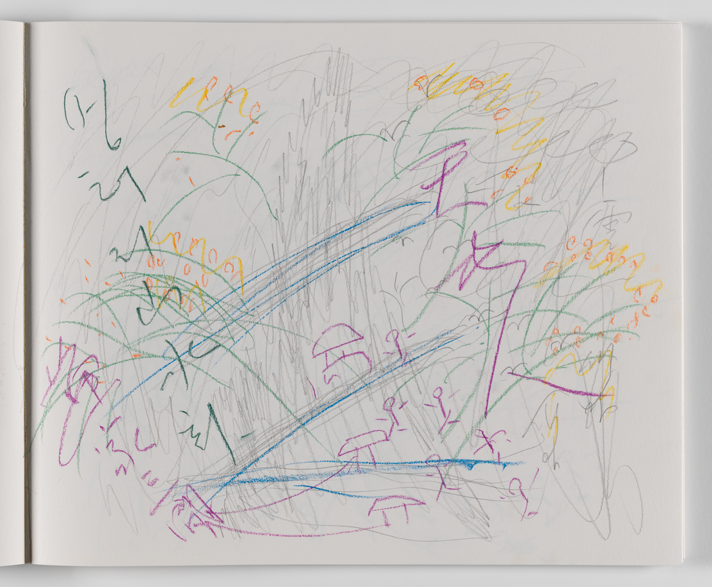 Nam June Paik, A Drawing Notebook, 1996 page 15