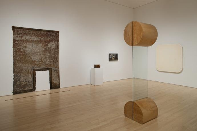 Installation view of Not New Work: Vincent Fecteau Selects from the Collection