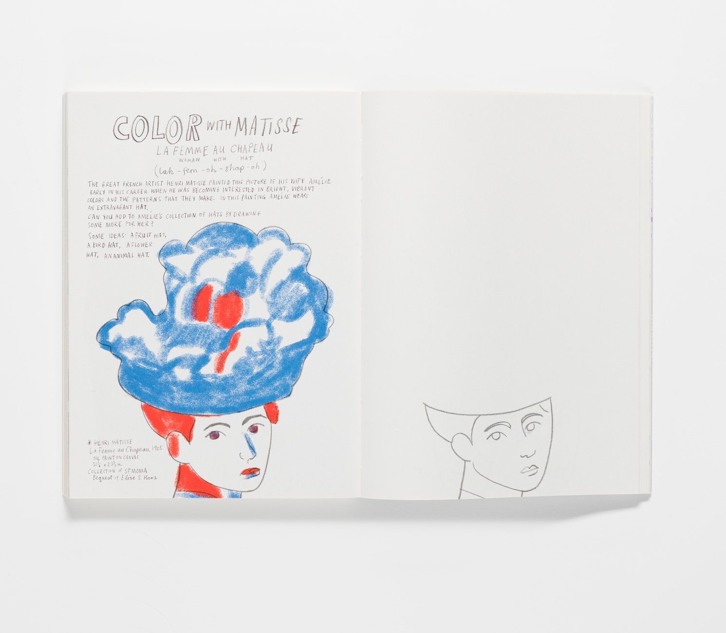 Play Artfully publication color with Matisse