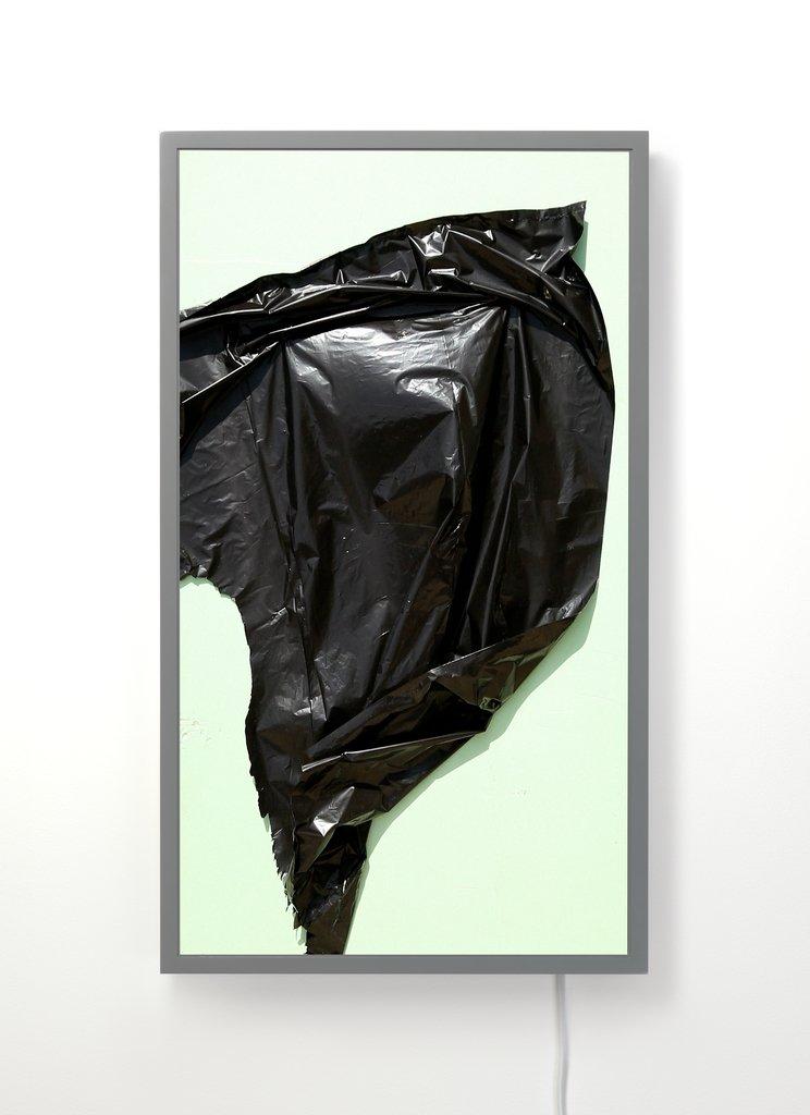 Artwork image, Owen Kydd, Composition, Warner Studio (on green)