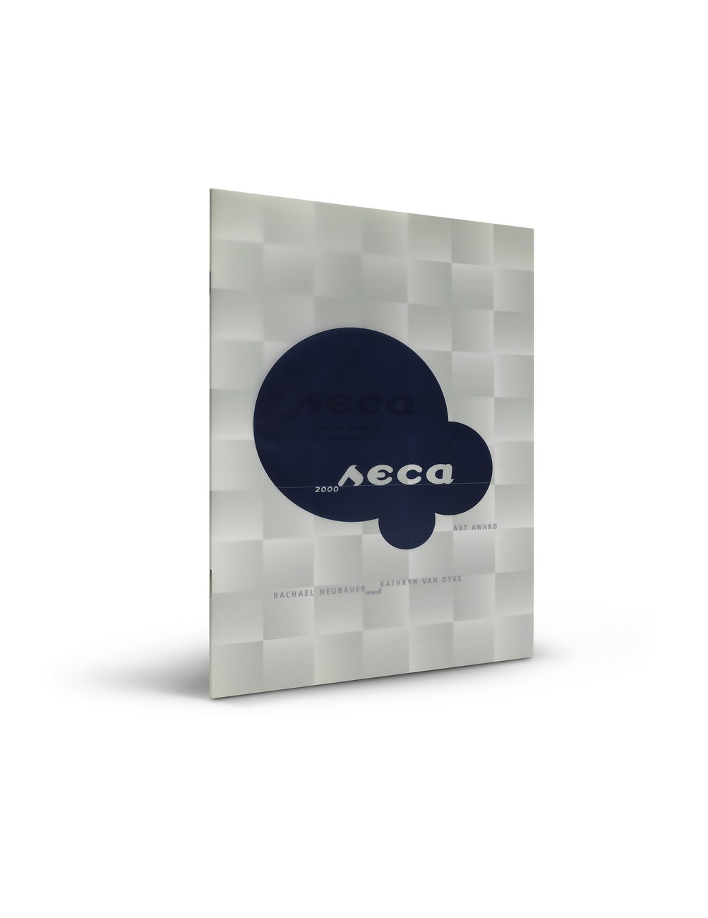 2000 SECA Art Award publication cover with outside flap closed