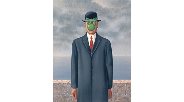 Magritte Son of Man thumbnail