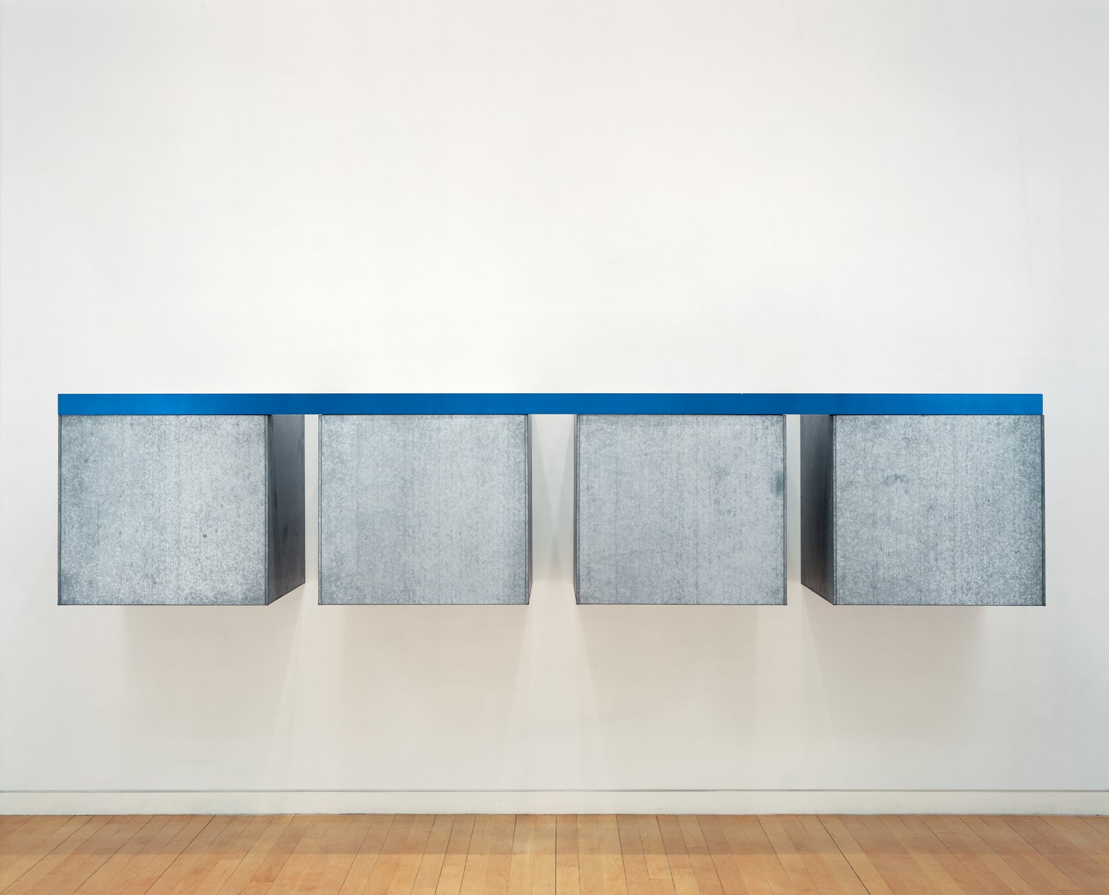 Artwork image, Donald Judd's To Susan Buckwalter