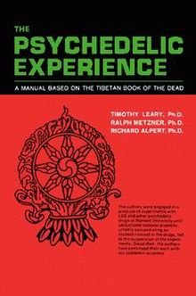 A black and red book cover with green lettering that reads The Psychedelic Experience