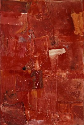 Robert Rauschenberg, Untitled (Red Painting), 1954