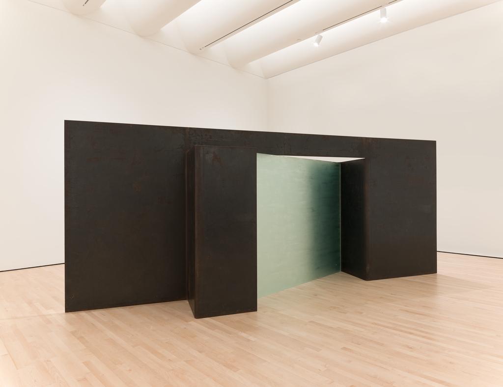 Installation view, Christopher Wilmarth, Days on Blue