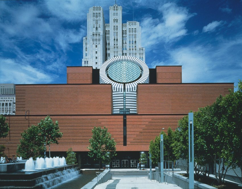 The front of the SFMOMA building before the new expansion