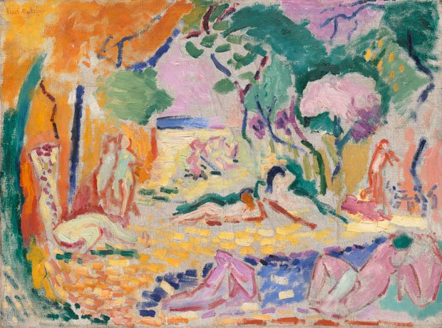 Henri Matisse's Sketch for Le Bonheur de vivre, 1905-6