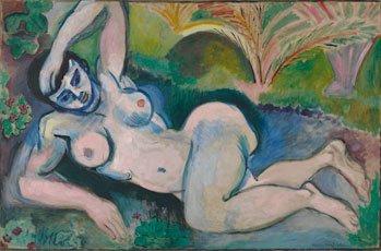 Matisse, Blue Nude: Memory of Biskra