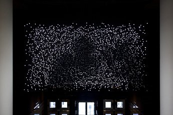 Jim Campbell light installation view
