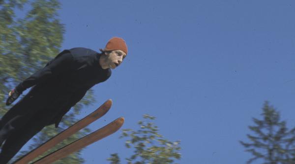 Video still, Herzog, The Great Ecstasy of Woodcarver Steiner