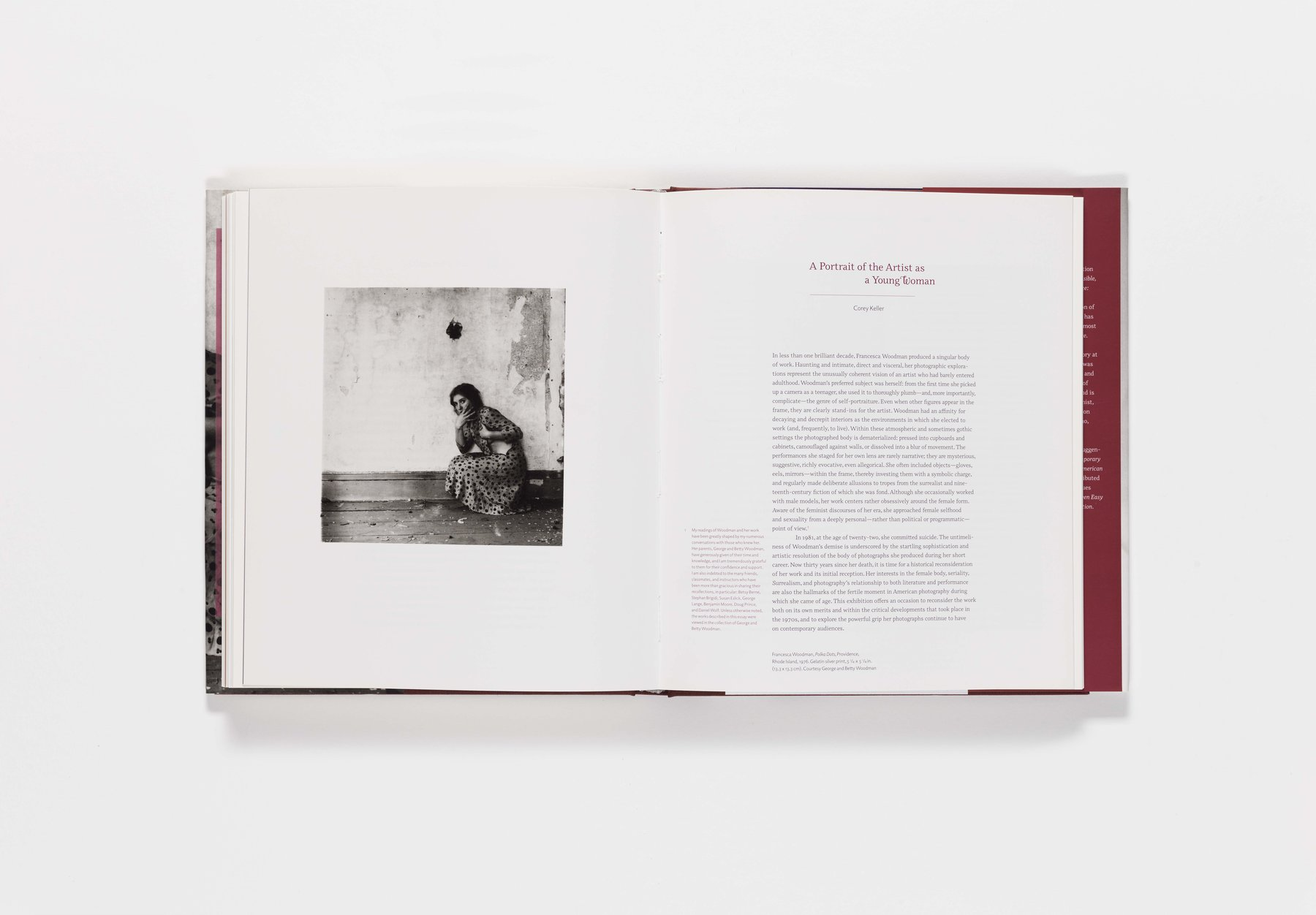 Francesca Woodman publication pages 168-169