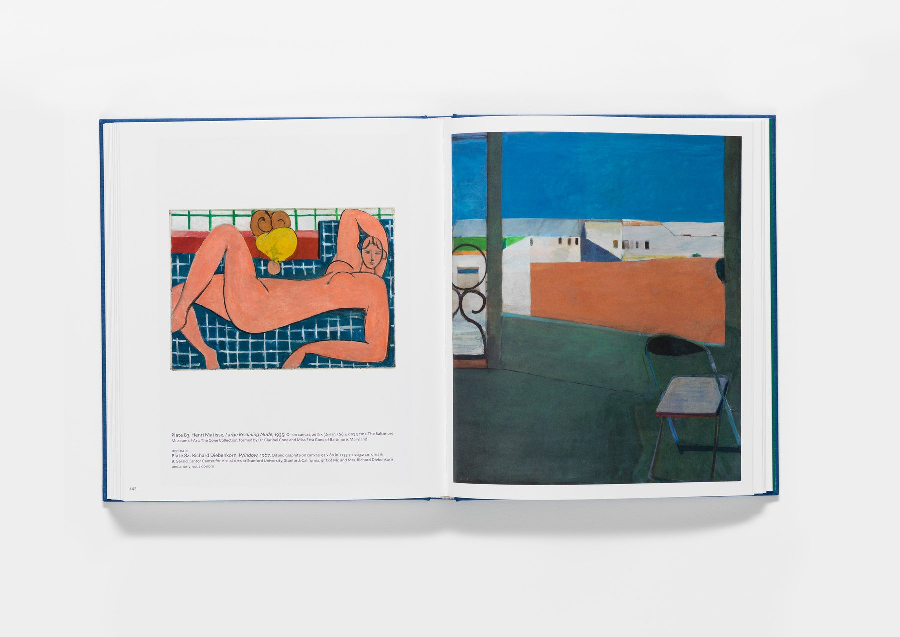 Matisse/Diebenkorn publication pages 142-143