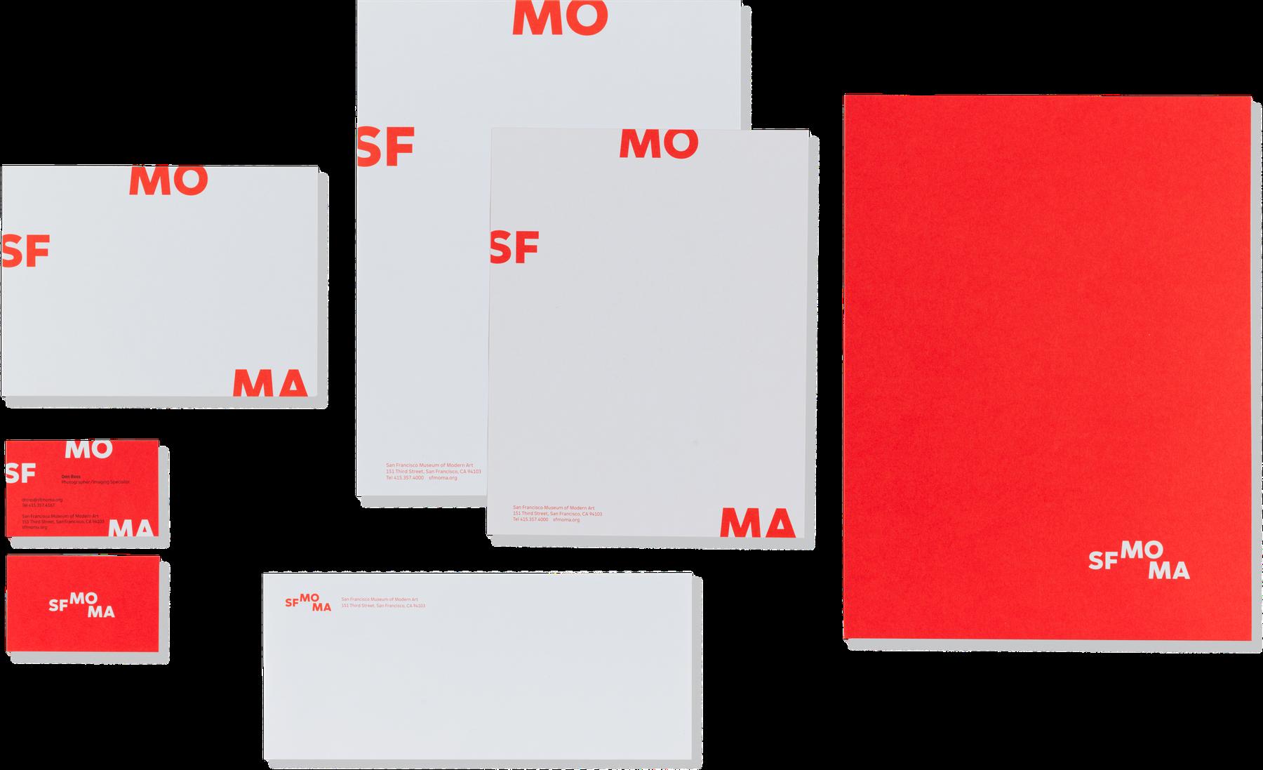 SFMOMA letterhead
