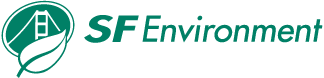 A green logo saying SF Environment