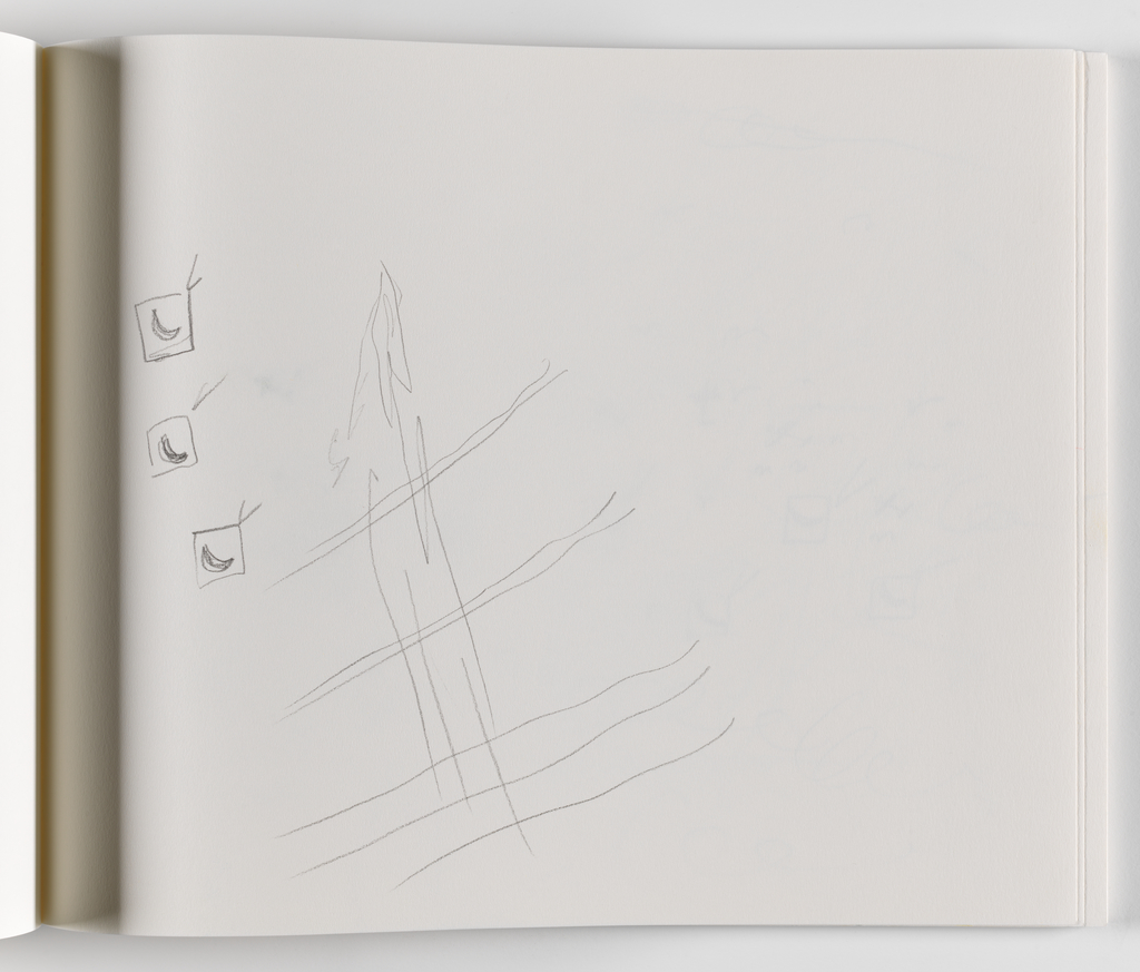 Nam June Paik, A Drawing Notebook, 1996 page 13