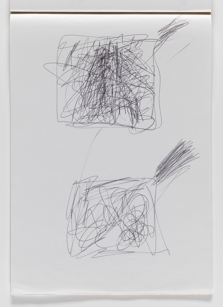 Nam June Paik, Untitled, from Untitled Notebook, 1980 page 42