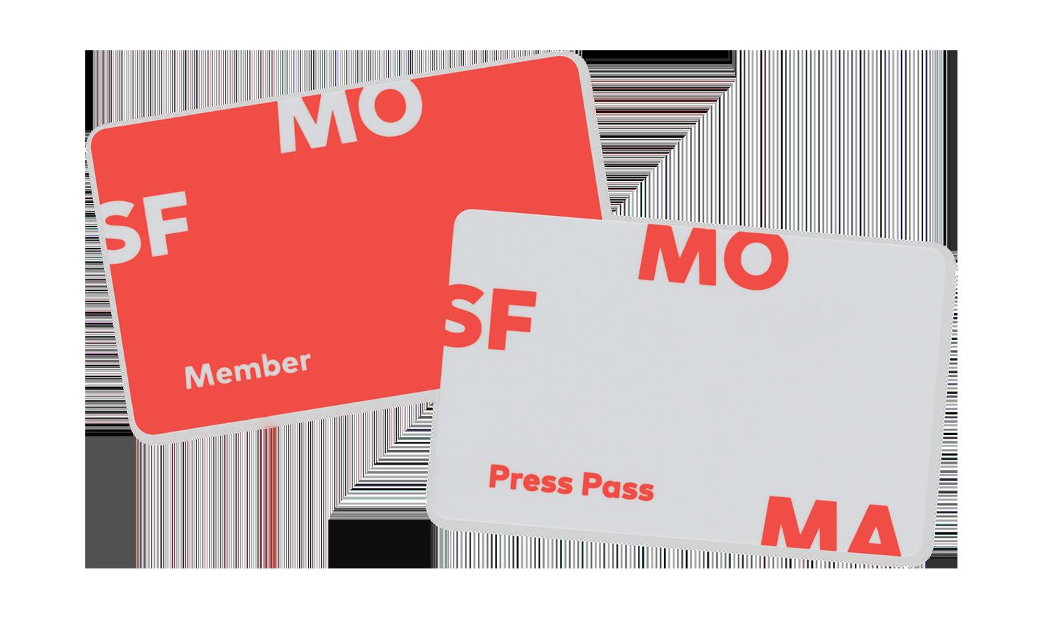 SFMOMA member cards