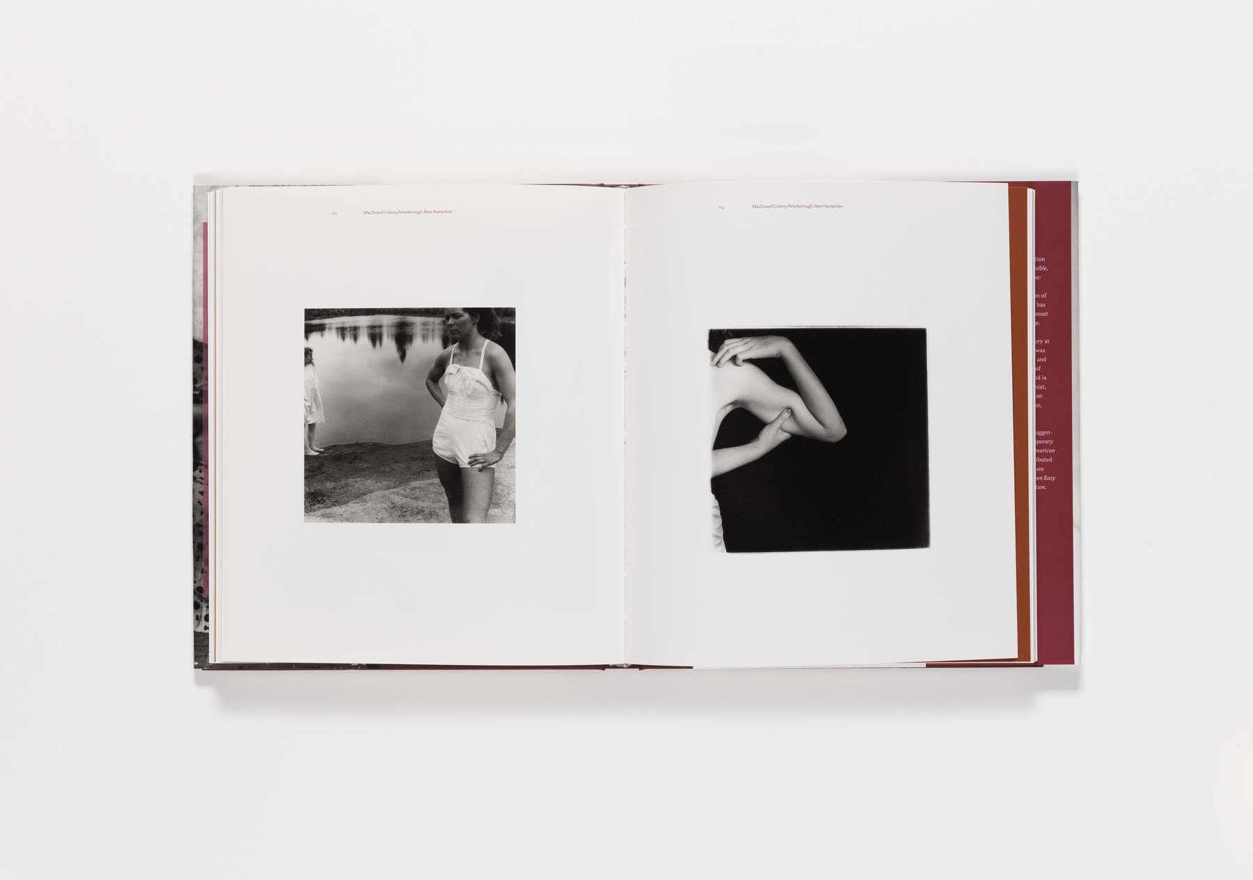 Francesca Woodman publication pages 112-113